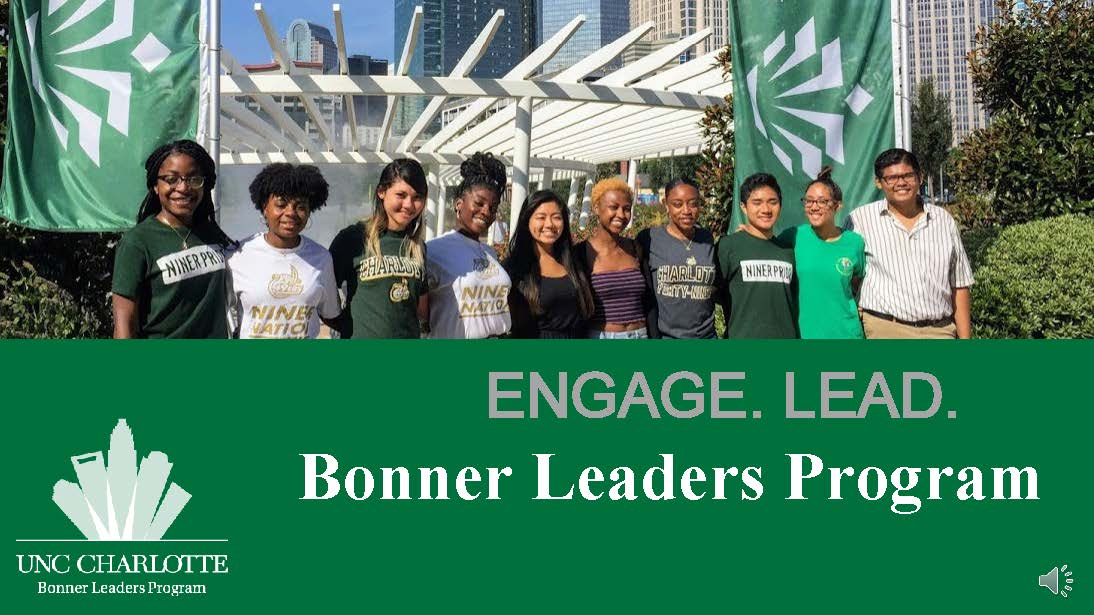 Bonner Leaders Recruitment Slideshow Access