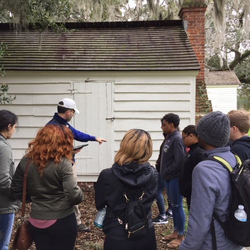 Historical tour of McLeod Plantation